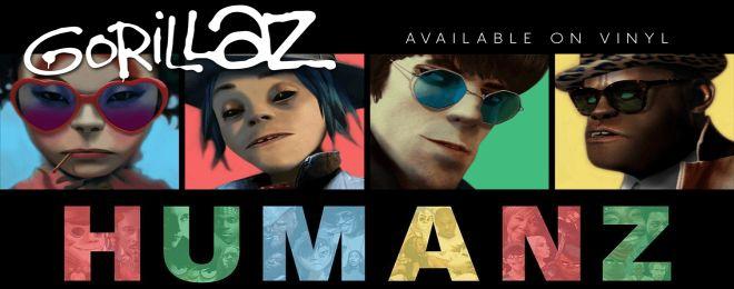 Gorillaz - Humanz