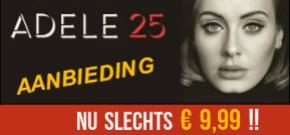 CD ADELE 25 aanbieding