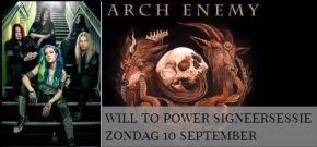 Signeersessie ARCH ENEMY ZONDAG 10/9