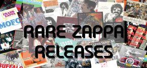 RARE FRANK ZAPPA RELEASES