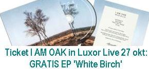 Actie I Am Oak @ Luxor Live