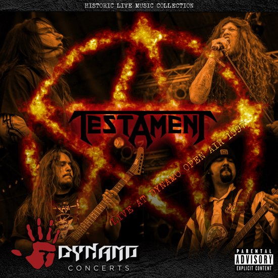 Testament Live At Dynamo Open Air 1997