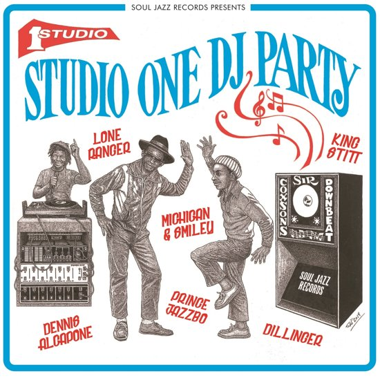 Various Studio One Dj Party -2lp + Download-