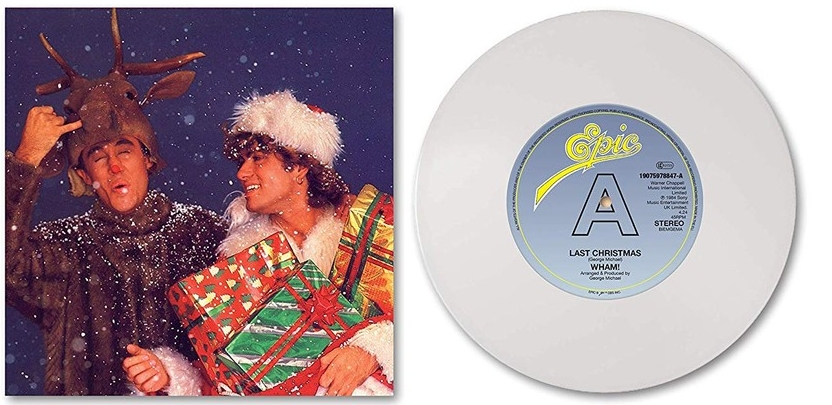 Wham | Last Christmas / White -coloured